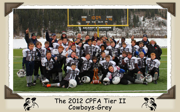 The 2012 CPFA Tier 2 Cowboys-Grey