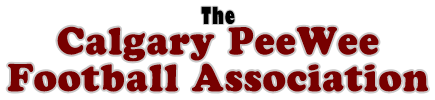 The Calgary PeeWee Football Association